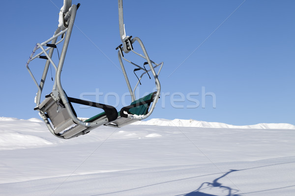 Ski Resort soleil jour chutes de neige Photo stock © BSANI