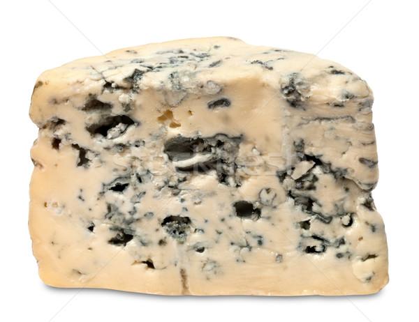 Queijo azul isolado branco fundo azul queijo Foto stock © BSANI