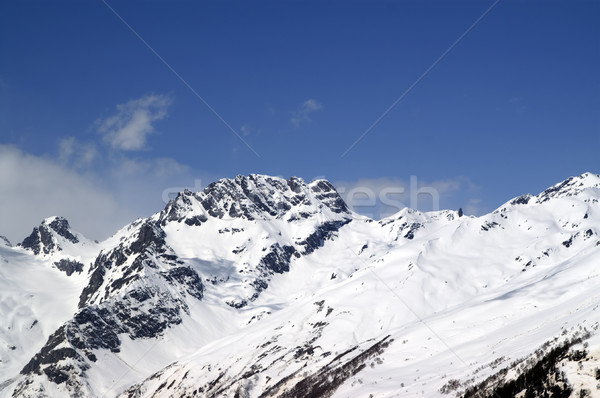Caucasus Mountains. Dombay. Sulahat. Stock photo © BSANI