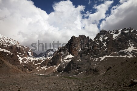 Mountains and sky with clouds Stock photo © BSANI