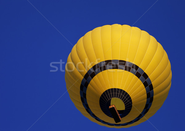 Luchtballon Blauw heldere hemel bodem hemel Stockfoto © BSANI