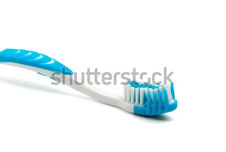 Toothbrush on white background Stock photo © BSANI