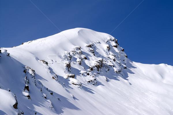 Kafkaslar dağlar spor manzara buz kış Stok fotoğraf © BSANI