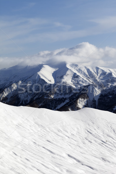 Ski slope for freeride Stock photo © BSANI