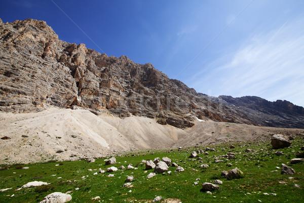Rocks in sunny day Stock photo © BSANI