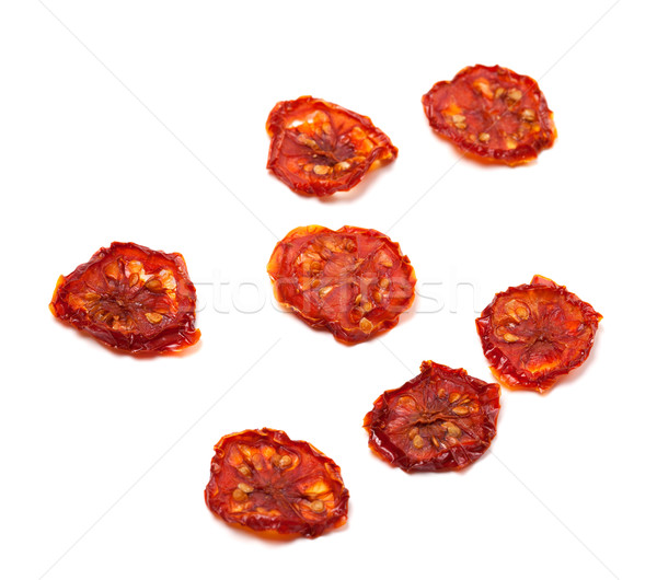 Dried slices of tomato. Selective focus Stock photo © BSANI