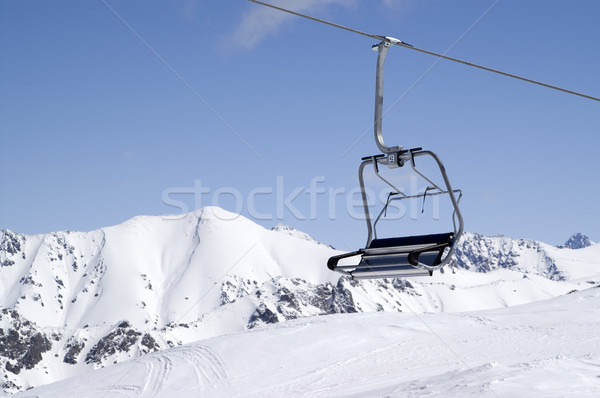 Chair-lift, close-up Stock photo © BSANI
