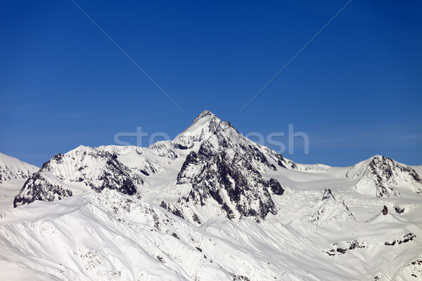 Snow covered mountains Stock photo © BSANI