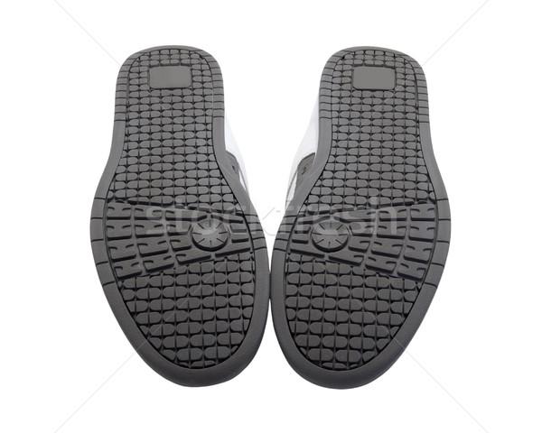 Sneakers soles upward Stock photo © BSANI