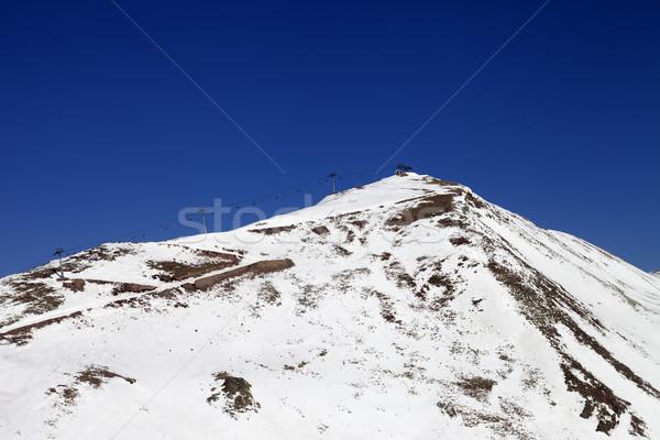 Hiver montagnes peu neige année Photo stock © BSANI