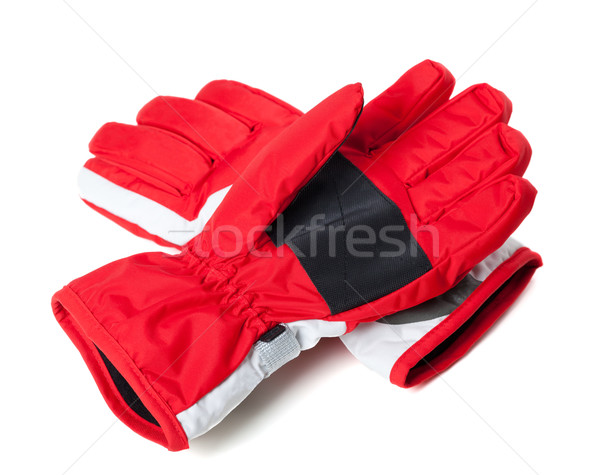 Winter ski gloves  Stock photo © BSANI