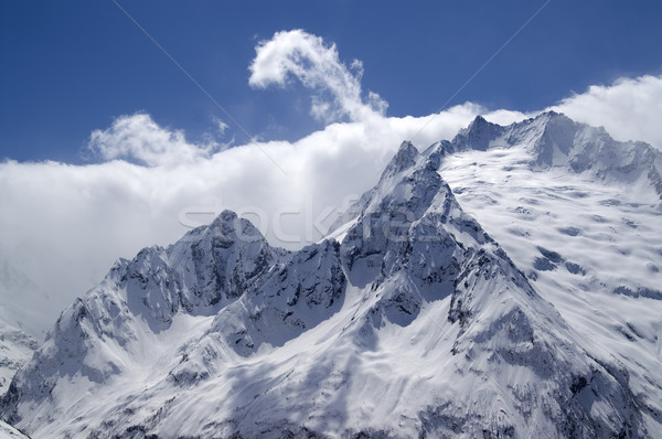 Caucasus Mountains. Dombay. Stock photo © BSANI