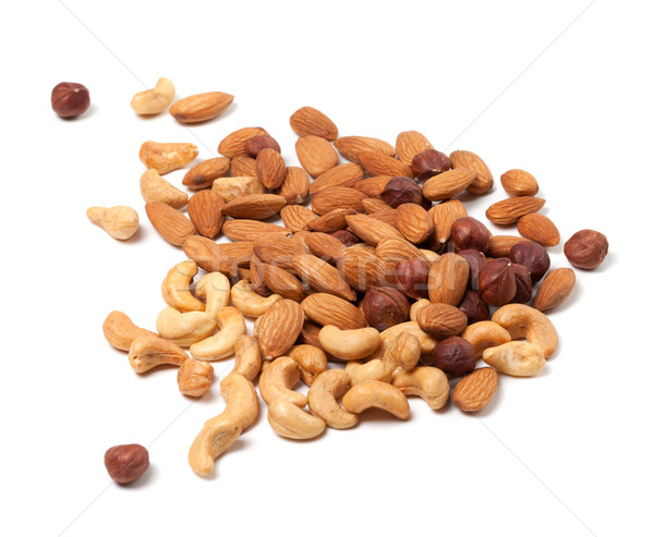 Cashews, hazelnuts and almonds nuts Stock photo © BSANI