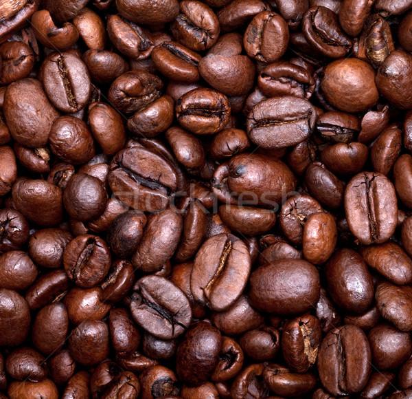 Chicchi di caffè alimentare ristorante cafe nero Foto d'archivio © BSANI
