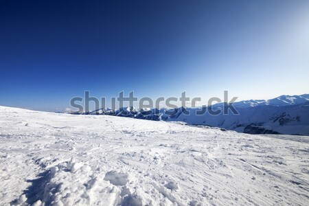 Ski slope Stock photo © BSANI