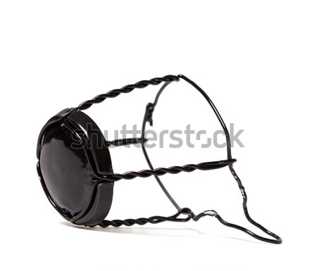 Black muselet from bottle of champagne wine. Stock photo © BSANI