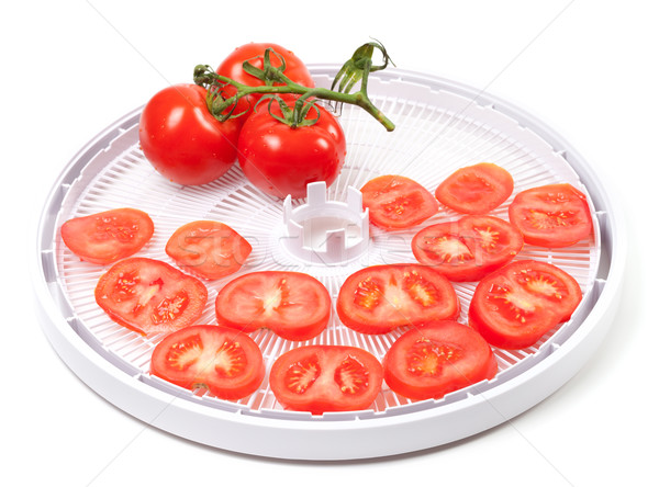 Fresh tomato prepared to dehydrated Stock photo © BSANI