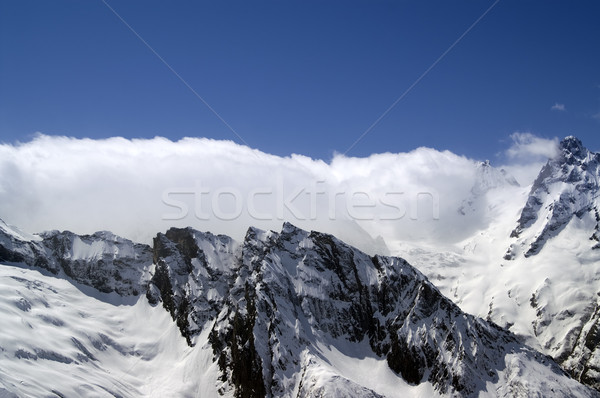 Mountains, Caucasus Stock photo © BSANI