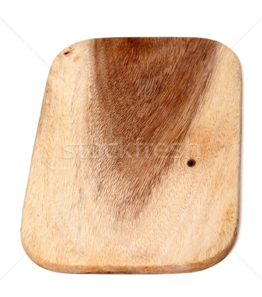 Wooden kitchen board Stock photo © BSANI