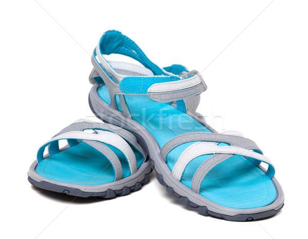 Pair of summer sandals Stock photo © BSANI