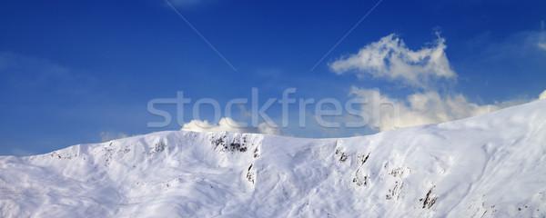 панорамный мнение склон Кавказ гор Сток-фото © BSANI