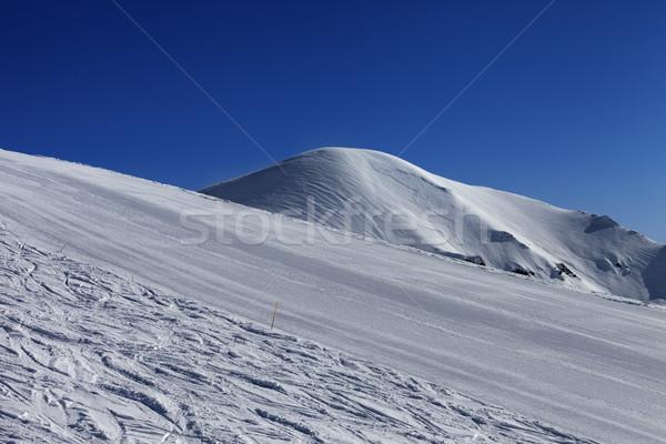 青空 グルジア スキー リゾート コーカサス ストックフォト © BSANI