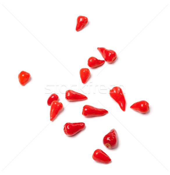 Piri-piri hot peppers Stock photo © BSANI