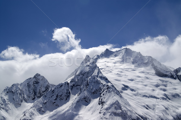 High mountains in cloud Stock photo © BSANI