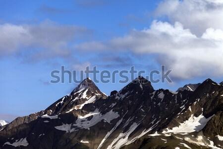 Cáucaso montanas Georgia deporte naturaleza montana Foto stock © BSANI