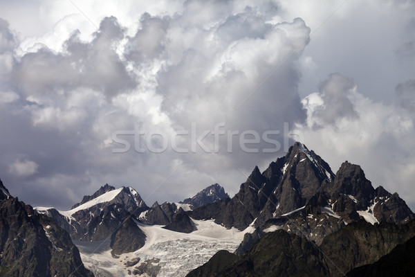 Mountains in storm Stock photo © BSANI