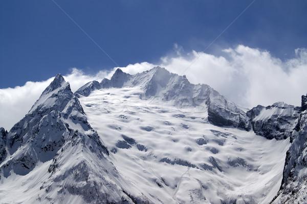 Geleira cáucaso montanhas paisagem montanha inverno Foto stock © BSANI