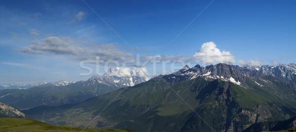 Panorama verano cáucaso montanas montana Georgia Foto stock © BSANI