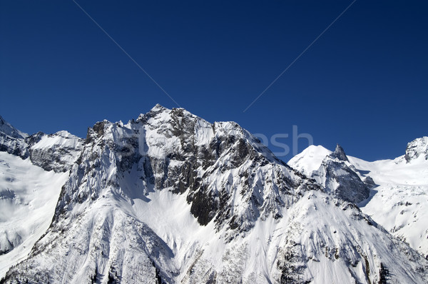 Mountains, Caucasus, Dombay Stock photo © BSANI