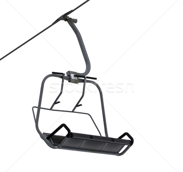 Chair-lift isolated on white Stock photo © BSANI