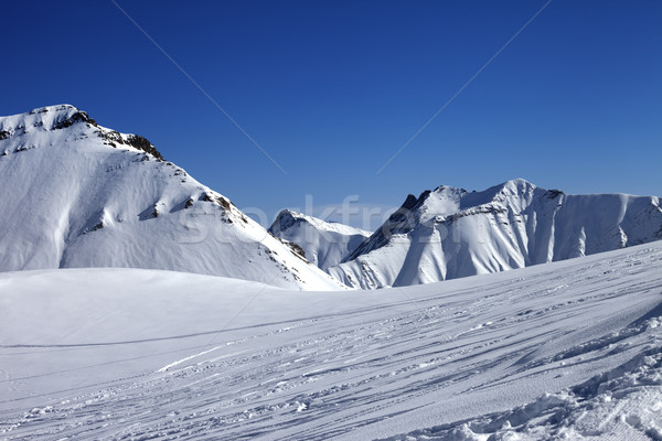 Ski slope at nice winter day Stock photo © BSANI