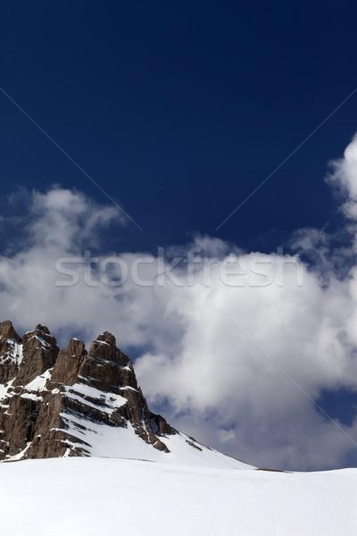 Kő passz Törökország központi hegyek fennsík Stock fotó © BSANI