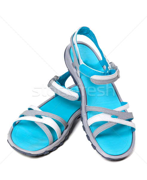 Pair of summer sandals Stock photo © BSANI