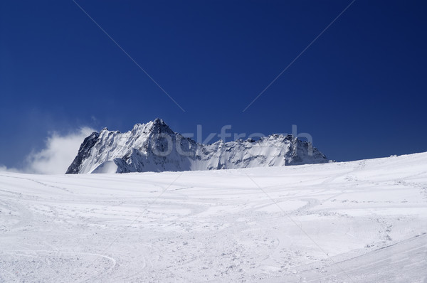 Ski resort. Stock photo © BSANI