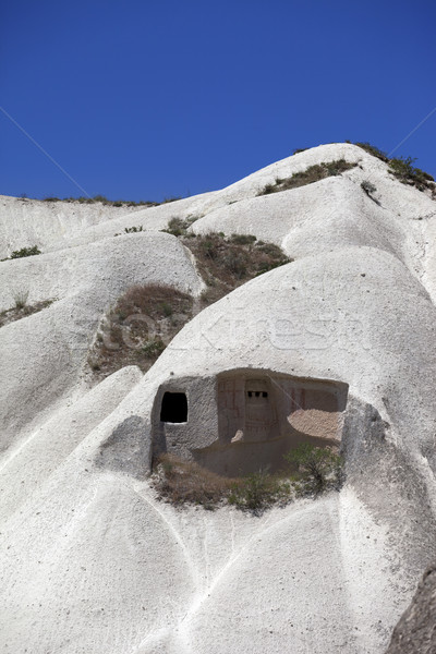 Ancient house in rock Stock photo © BSANI