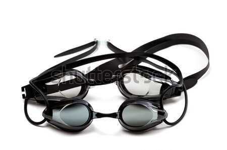 Two black goggles for swimming Stock photo © BSANI