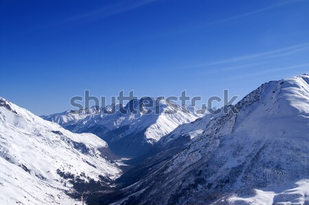 View from off-piste ski slope Stock photo © BSANI