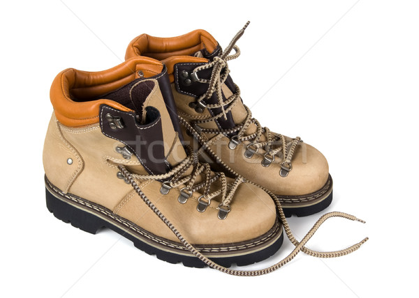Pair of hiking boots Stock photo © BSANI