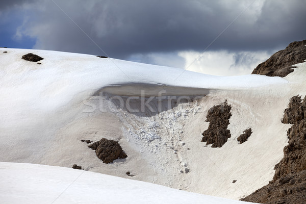 Snow cornice in mountains  Stock photo © BSANI