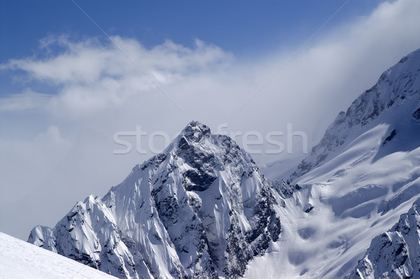 Snowy Mountains Stock photo © BSANI