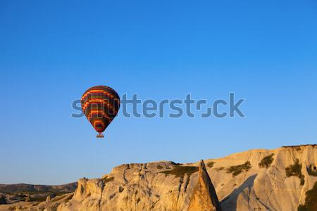 Hot air balloons in early morning Stock photo © BSANI