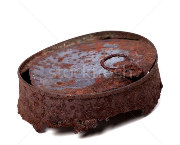 Old rusty tincan Stock photo © BSANI