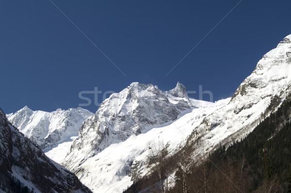 Cáucaso montanhas ver montanha floresta paisagem Foto stock © BSANI