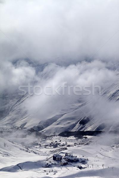 üst görmek buğu kafkaslar Stok fotoğraf © BSANI