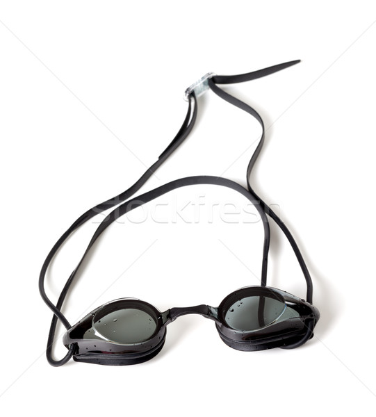 Wet goggles for swimming on white background. Stock photo © BSANI