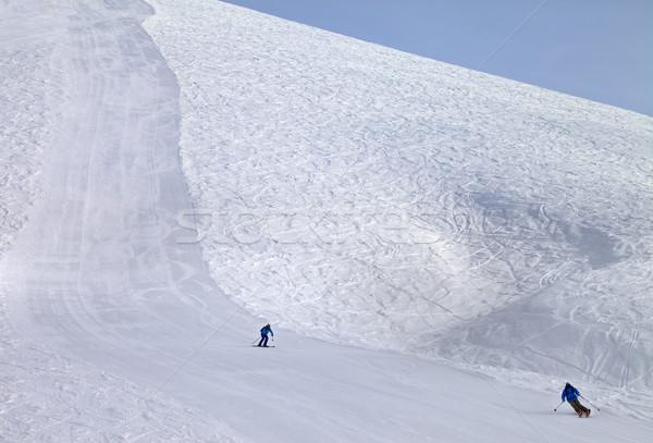 Sol dia Geórgia esquiar recorrer Foto stock © BSANI